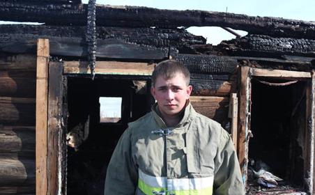Молодой человек из Татарстана спас двух мужчин на пожаре