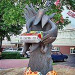 памятник сырку Држба